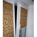 Рулонные жалюзи (шторы). Система Роллайт на пластиковое окно